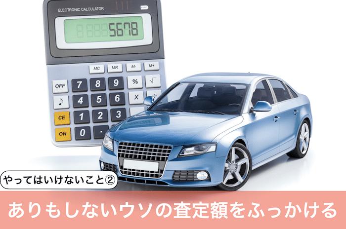 青い車と計算機