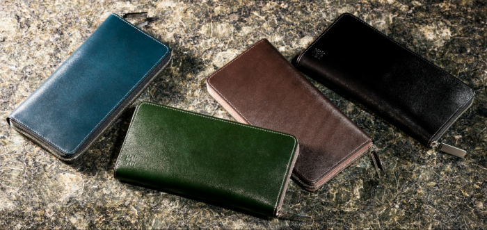 ココマイスターの長財布4個