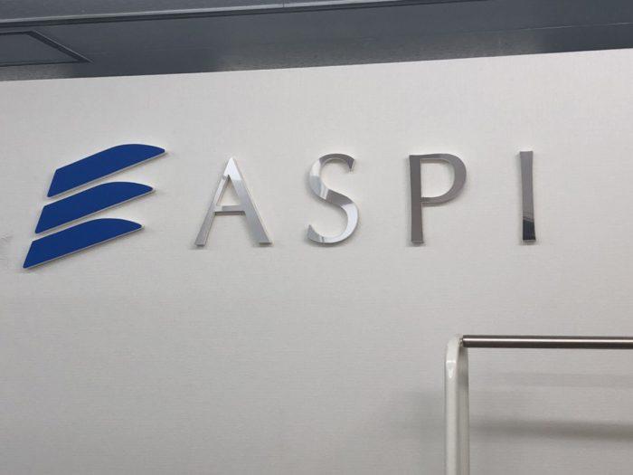 ASPI新宿の入り口