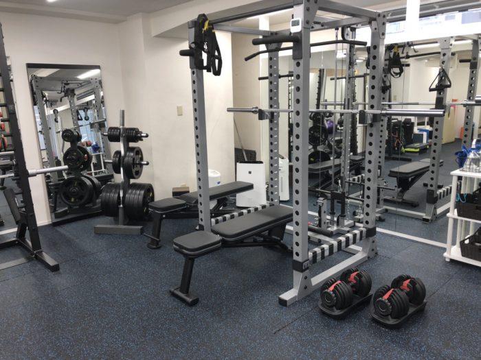 ASPI新宿のトレーニングルーム