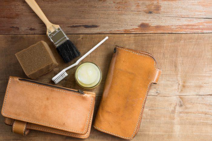 マットーネ財布の手入れ方法
