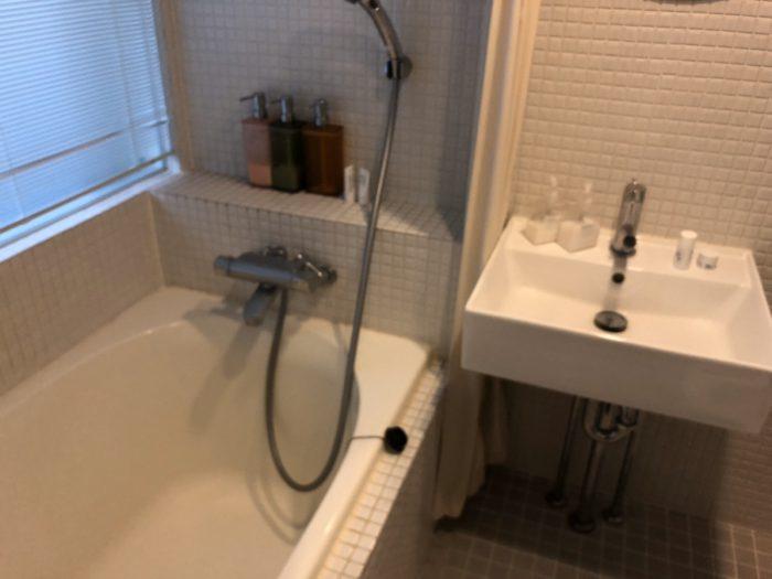 ac-fitのシャワールーム