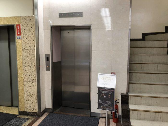 アップルジムのエレベーター