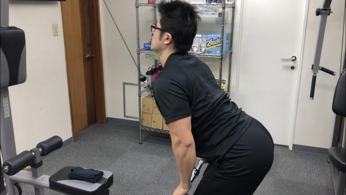 Bodykeの背中トレーニング