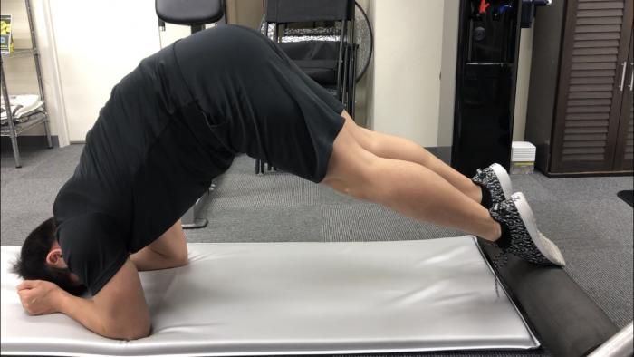 ボディークの腹筋トレーニング