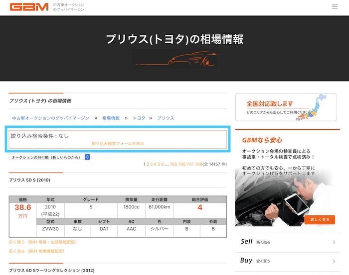 GBM相場情報の使い方③