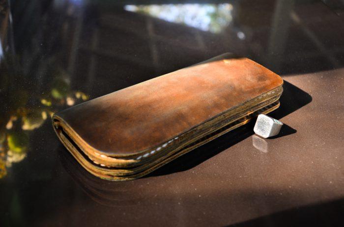 財布のエイジング