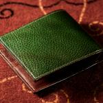 ロッソピエトラ二つ折り財布