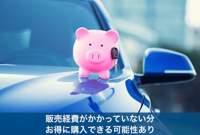 車の上にある豚の貯金箱