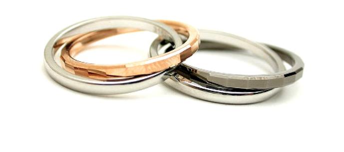 結婚指輪の素材のロゴ7