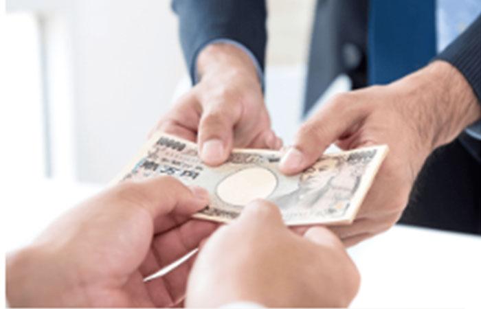 ステップ5:買取金額と契約内容に納得できるようであれば買取金額を受け取って買取成立