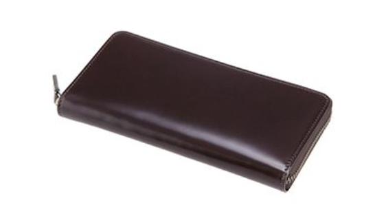 CYPRIS(キプリス)のCordovan & Limpid Calfラウンドファスナー長財布