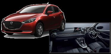 mazda2の車両本体とディーラーオプション