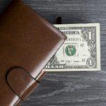 茶色い長財布